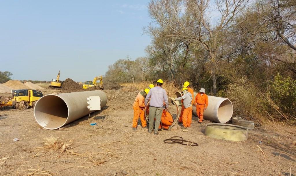 Con trabajos de mantenimiento y financiamiento para obras, Sameep trabaja para mejorar el servicio de agua y cloacas en Sáenz Peña