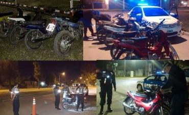 Control de motos: Resistencia e interior con 24 secuestradas