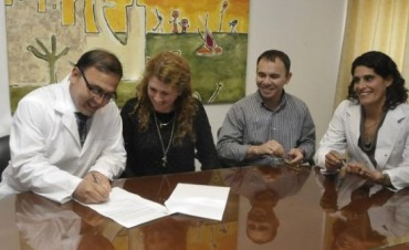 Crespo puso en función al nuevo director del Hospital Perrando