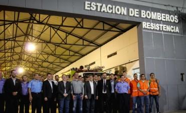 El vicegobernador lanzó el primer curso de Combate Contra Incendios para personal del Servicio Penitenciario
