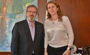 Crespo gestionó ante nación importantes beneficios para la provincia