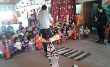 Caminera visita Barranqueras para formar a sus futuros conductores