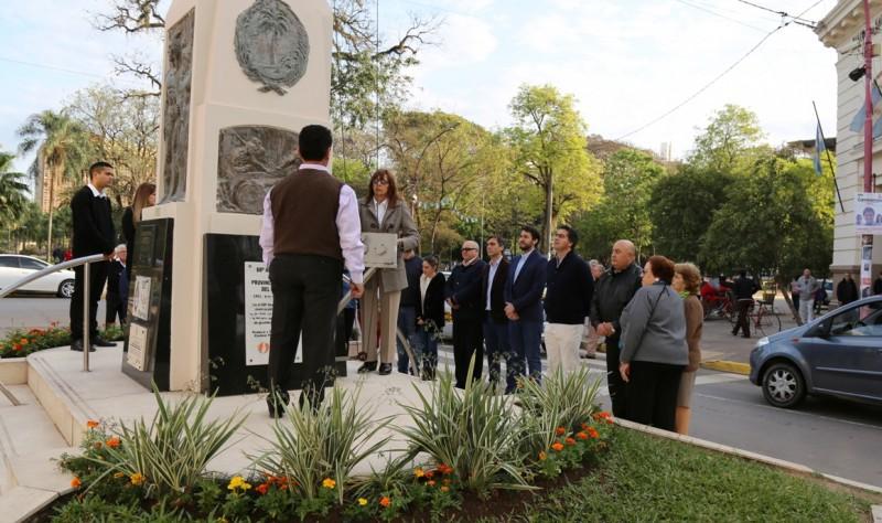 Capitanich participó del homenaje por el Día del Maestro