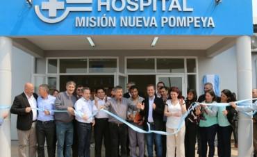 Se inauguró un hospital de complejidad III en Misión Nueva Pompeya
