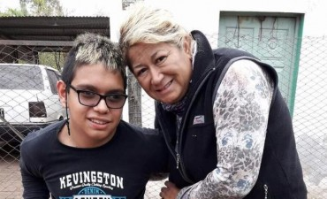 Marta Quintana, una paciente oncológica que continúa su lucha por la construcción del Hospital Oncológico para el Norte Argentino.