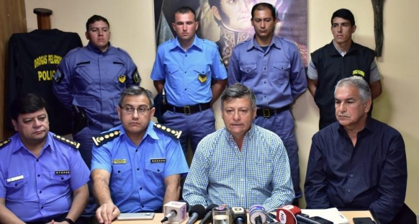 PEPPO DESTACÓ PROCEDIMIENTO POLICIAL QUE PERMITIÓ INCAUTAR CARGAMENTO DE DROGAS EN LA ISLA DEL CERRITO