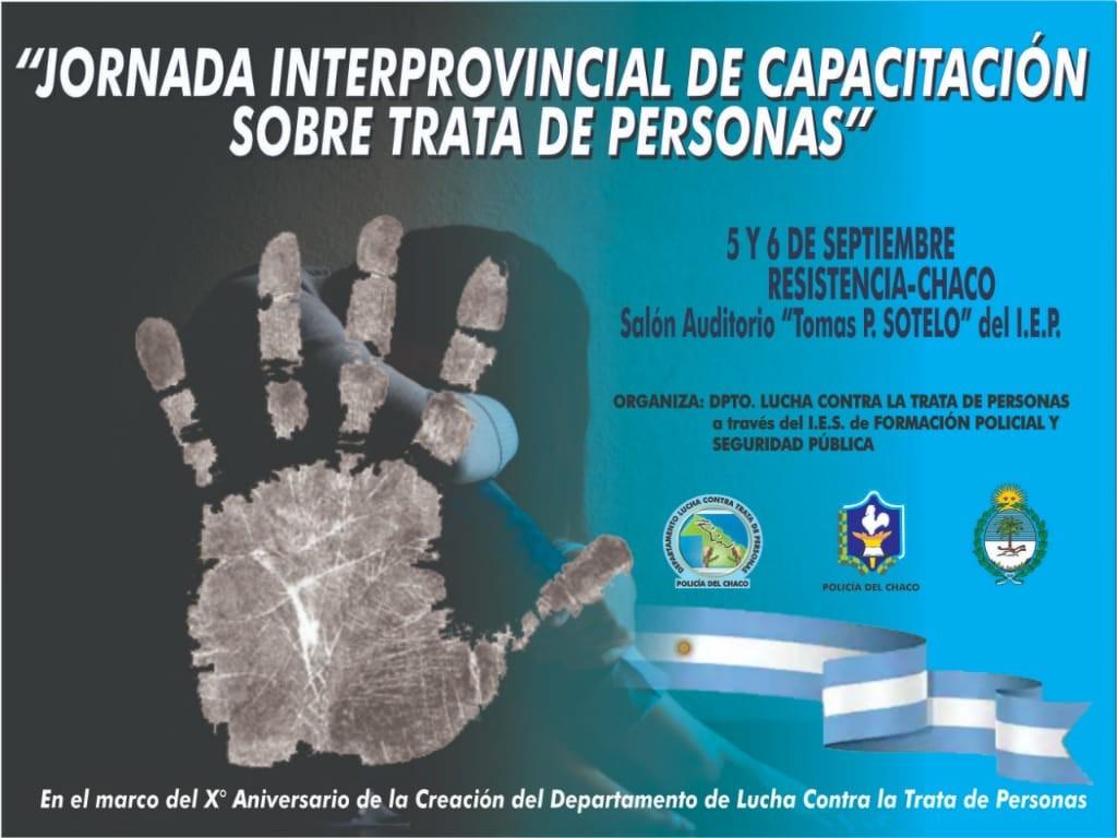 JORNADA INTERPROVINCIAL DE CAPACITACIÓN SOBRE TRATA DE PERSONAS