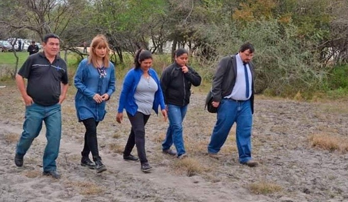 EL GOBIERNO PARTICIPÓ DE LAS EXCAVACIONES BUSCANDO RESTOS DE VÍCTIMAS DE LA