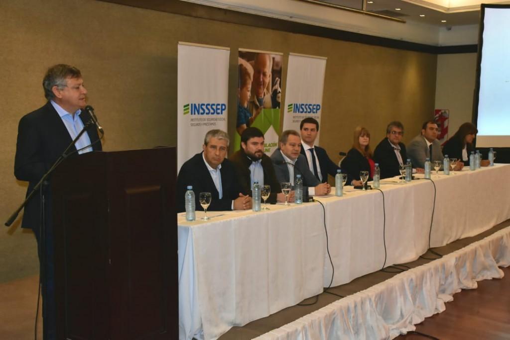 Domingo Peppo presentó la jubilación Online