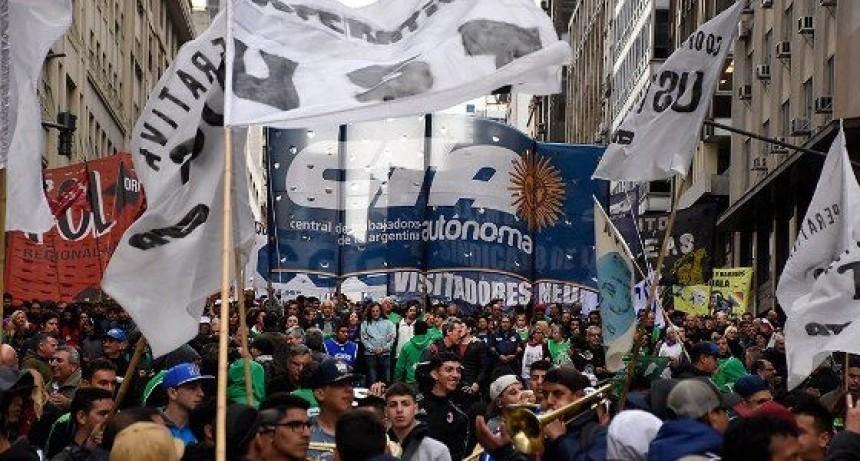 JORNADA DE PAROS Y MOVILIZACIONES EN TODO EL PAÍS