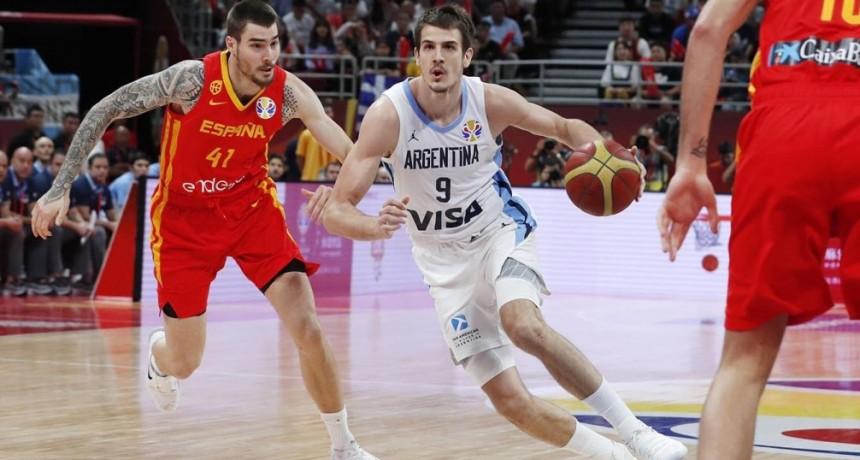 Argentina dejó todo pero no pudo con España