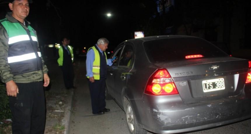 Cuatro personas fueron detenidas por ocasionar disturbios en distintos controles de alcoholemia