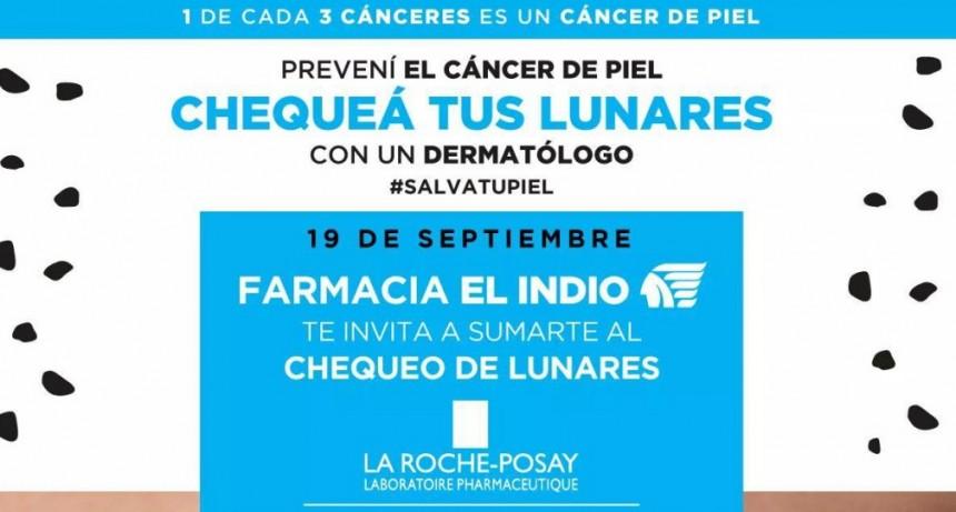 Chequeo de lunares en Resistencia para detectar el cáncer de piel