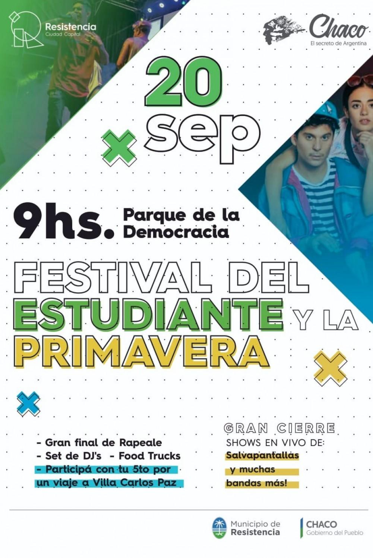 Se dieron a conocer las actividades  del Festival por el Día del Estudiante y la Primavera