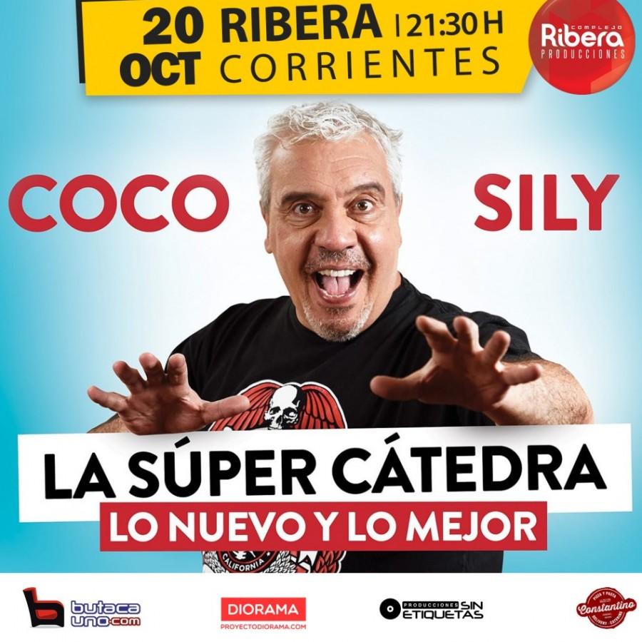 El humor de Coco Sily llega al Guido Miranda