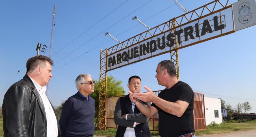 El Vicegobernador presentó a una Empresa China en Sáenz Peña