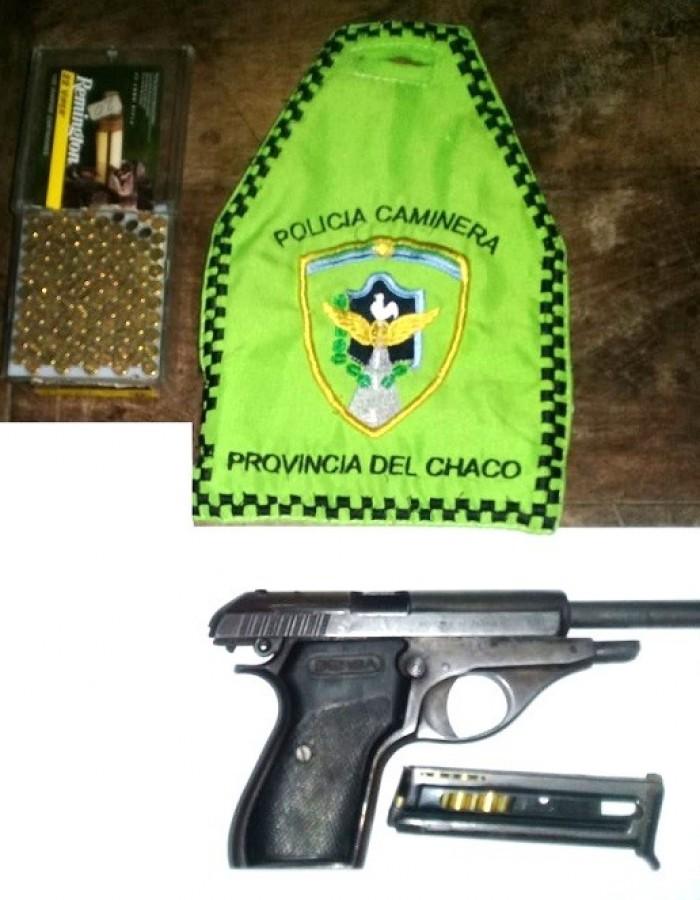 En General San Martín demoraron a un hombre que viajaba armado