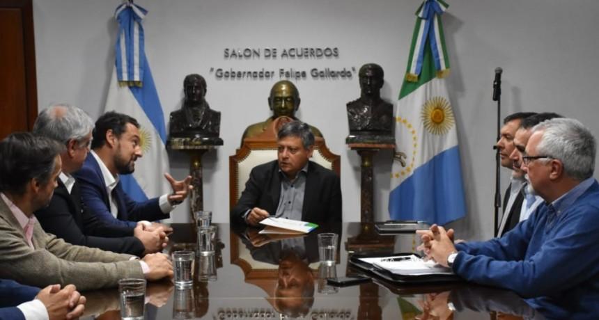 Domingo Peppo recibió al titular nacional de AFIP