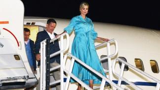 Ivanka Trump estuvo en Jujuy y habló con Macri, quien le agradeció la visita