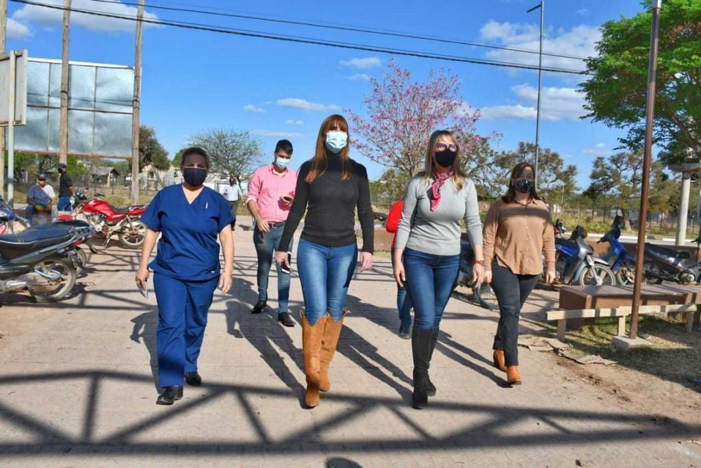 Refuerzan la búsqueda activa de casos de coronavirus en Charata mediante el programa Ayudar