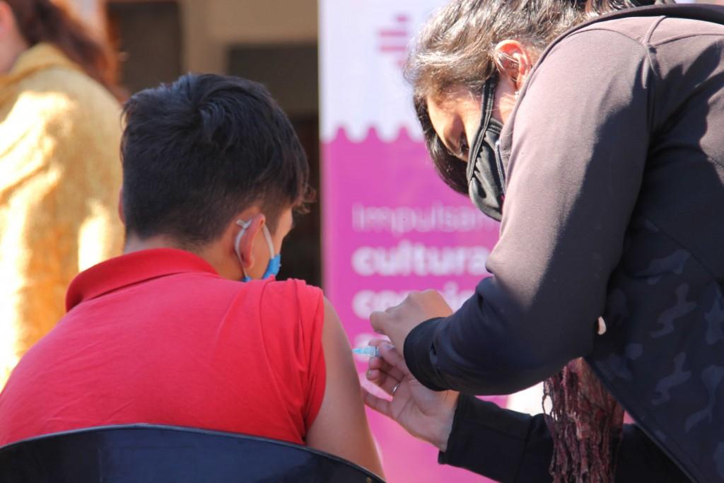 Avanza la campaña de vacunación de niños en los barrios de Resistencia
