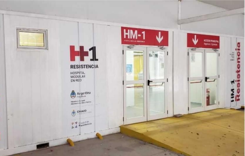 Aseguran que el Hospital Perrando está preparado y equipado para afrontar la pandemia