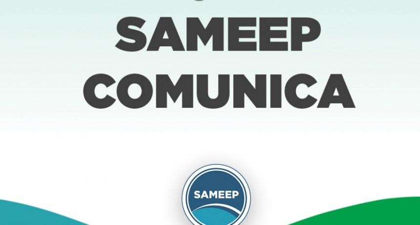 """Sameep lleva """"Casa por casa"""" facturas e información sobre saldos y pagos"""