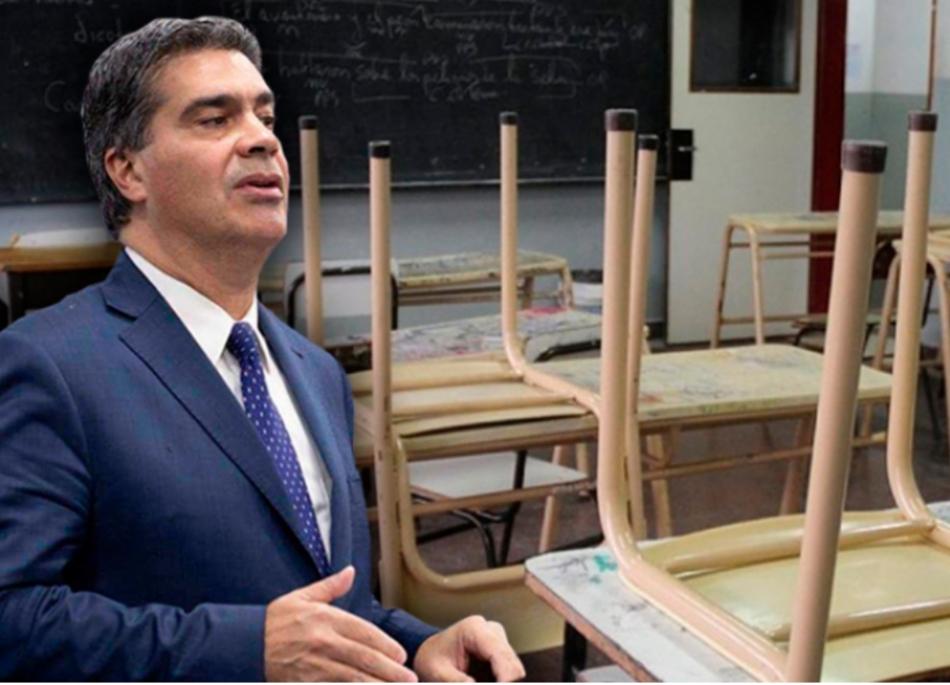 Salario docente: Capitanich confirmó que se vuelve a pagar la cláusula gatillo más un