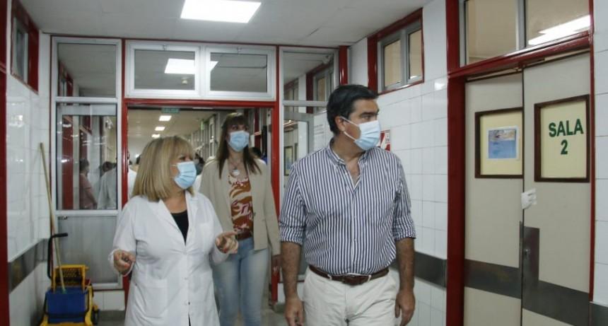 Capitanich inauguró el nuevo edificio de Guardias y Urgencias del Hospital Perrando