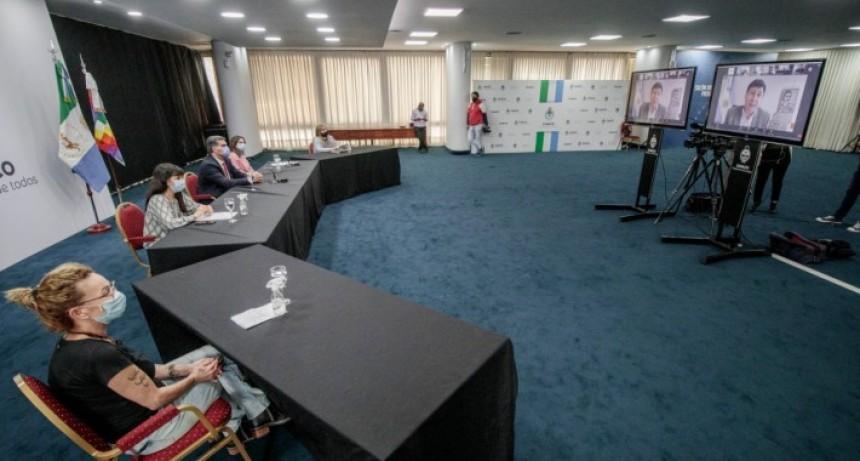 Capitanich y el ministro Daniel Arroyo anunciaron nuevas obras en Centros de Integración Familiar