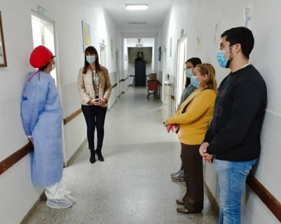 Salud refuerza la organización y optimización del hospital de Villa Ángela