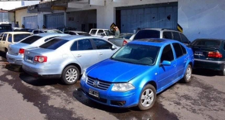 Resistencia: Este viernes comienza la subasta de 83 vehículos en desuso del Estado provincial