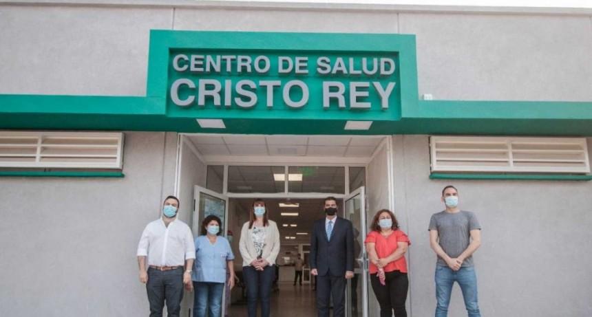 El Gobierno inauguró la ampliación y refuncionalización del centro de salud del barrio Cristo Rey