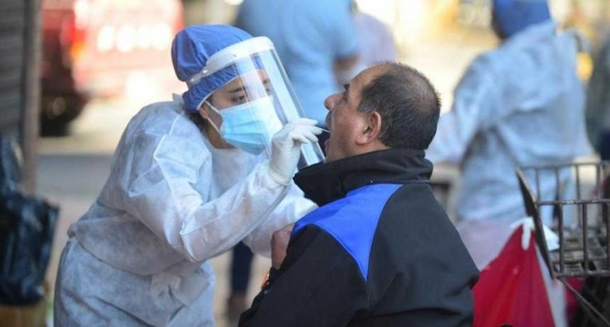 Con casos positivos en 15 localidades, la provincia sumó 121 nuevos contagios de COVID-19