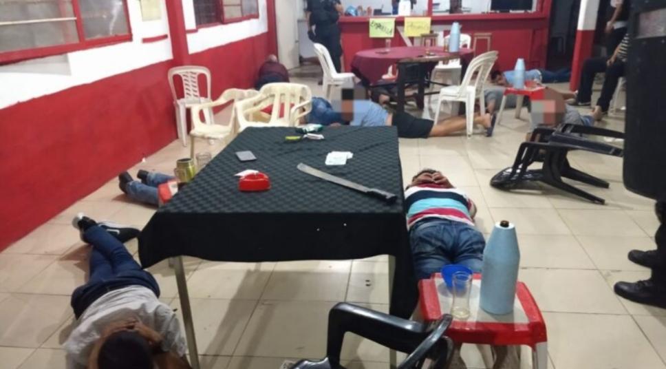 Juego clandestino en Resistencia: incautaron dinero en efectivo y varios detenidos