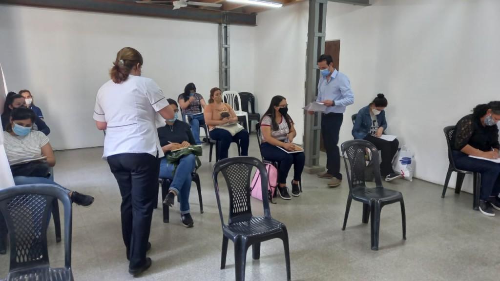 Hospital Perrando: se realizó el examen para becas de perfeccionamiento destinadas a técnicos en hemoterapia