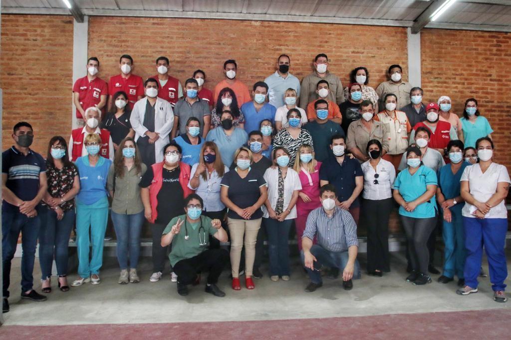 Con una gran jornada en Machagai, se despliegan las últimas acciones del operativo integral de salud