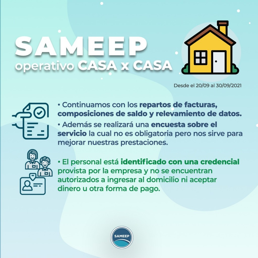 Sameep comienza un nuevo operativo