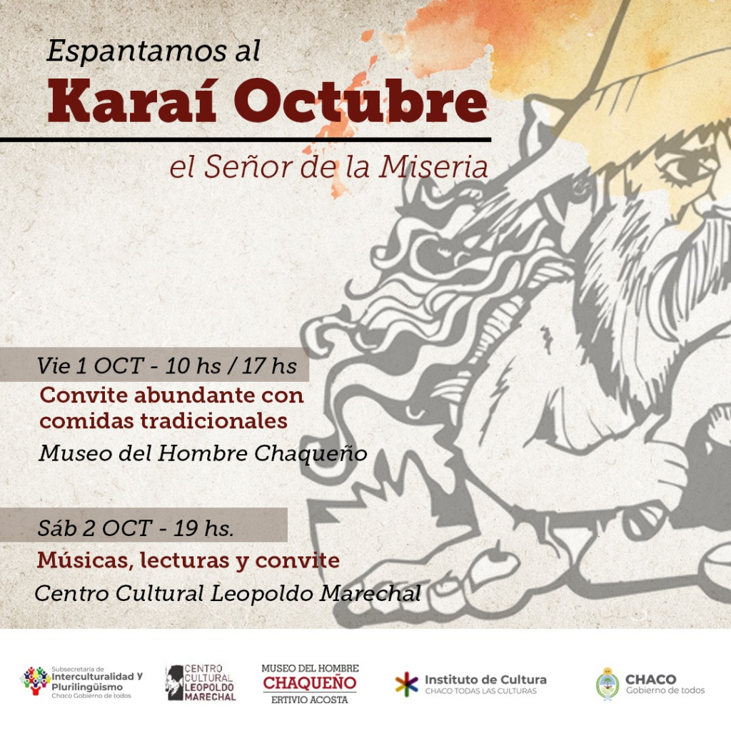 El Museo del Hombre y el Leopoldo Marechal se preparan para espantar al Karaí