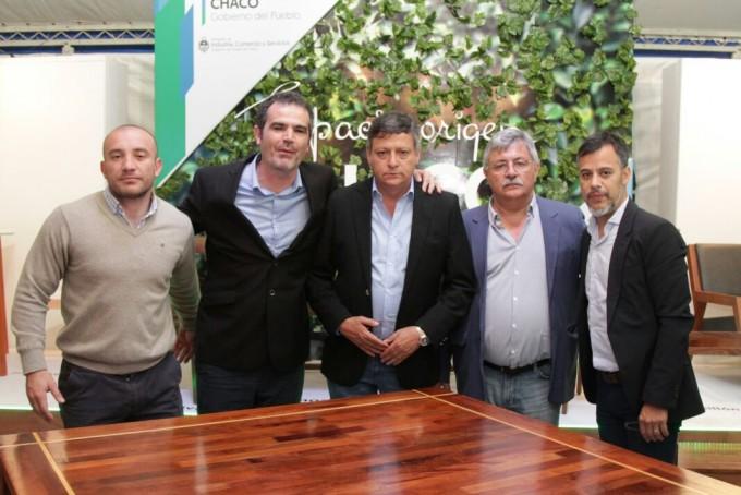 En la FERIA INTERNACIONAL DEL MUEBLE, Peppo destacó el potencial productivo forestal de la región