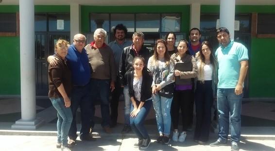 Secretaria de Ambiente y UCES en jornada de trabajo en Centro Comunitario