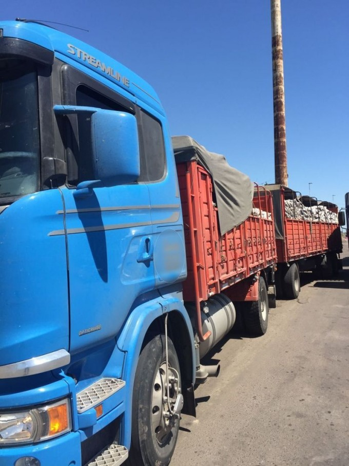CONTINUAN DETECTANDO TRANSPORTES DE CARGA SIN DOCUMENTACIONES HABILITANTES