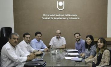 El gobierno y la UNNE implementarán pasantías en Desarrollo Urbano y Planificación Territorial