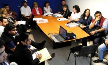 CRESPO REUNIÓ AL GABINETE DE SALUD PARA OPTIMIZAR EL FUNCIONAMIENTO DE LA RED PROVINCIAL