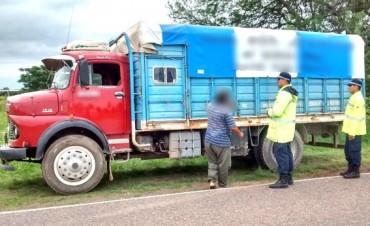 SAENZ PEÑA:Decomisan cargamento de fideos y de semillas de algodon transportados ilegalmente
