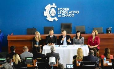 PRIMER SESION HISTORICA DE LA CAMARA DE DIPUTADOS DEL CHACO