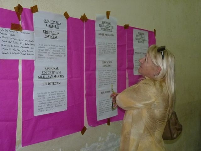 MAÑANA SE HARÁN OFRECIMIENTOS DE CARGOS A DOCENTES EN DISPONIBILIDAD