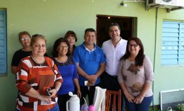 Municipio y vecinos coordinan acciones para pavimentar el barrio Virgen de Lourdes 107 Viviendas