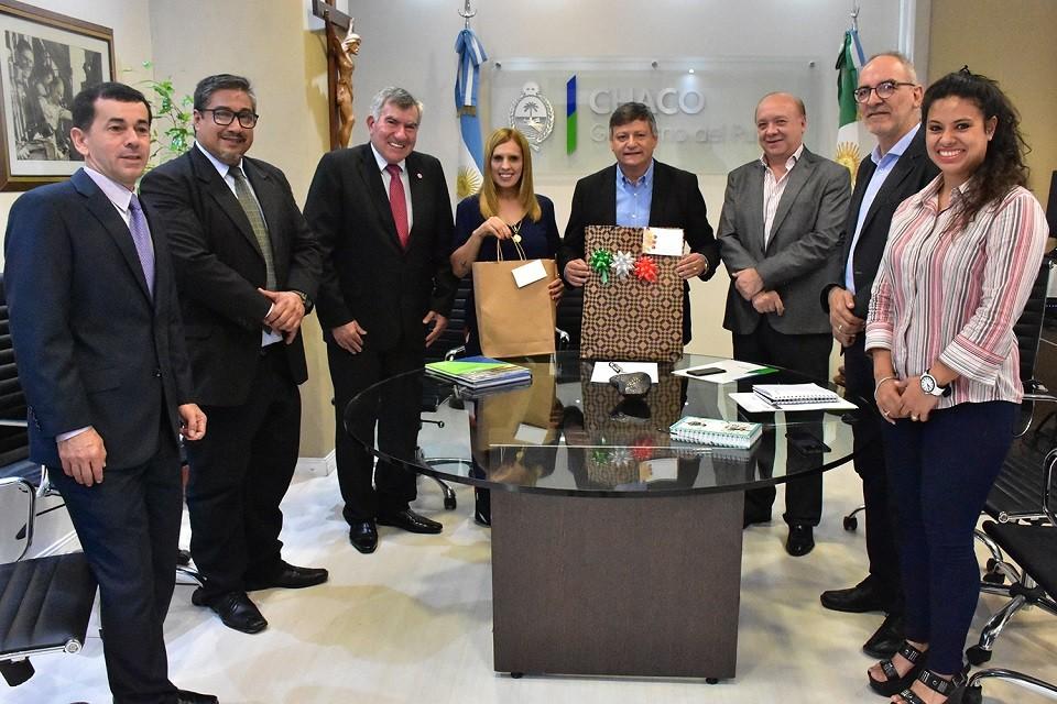 PEPPO RECIBIÓ AL NUEVO CÓNSUL DEL PARAGUAY