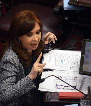 Cristina asoció el pedido de detención con su rechazo al aumento del gas